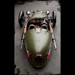 Morgan 3-Wheeler - angled top view 800x800px