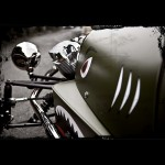Morgan 3-Wheeler - optional 'shark nose' decal 800x800px