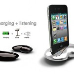 Nautilus iPhone 4 Dock is one arty zinc alloy dock