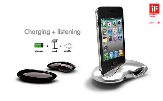OZKI Nautilus iPhone 4 Dock 544x338px