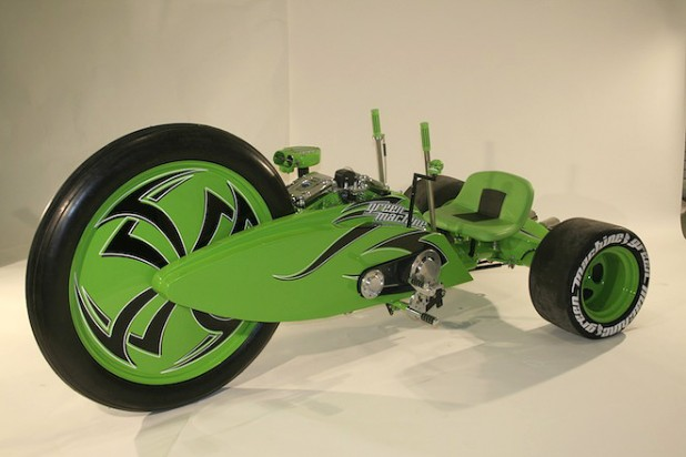 Parker Brothers Choppers Green Machine 660x440px