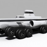 Pathfinder is a submarine that crawls along the ocean floor