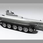 Phil Pauley Pathfinder - submarine with tracks 640x450px