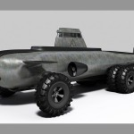Phil Pauley Pathfinder - submarine with wheels 640x450px