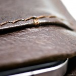 Portel iPhone Leather Wallet - close-up 640x640px
