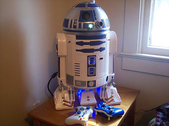 R2D2 xbox 360 Mod by Major League Mod 544x408px