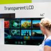 Samsung Transparent LCD Display prototype