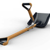 Shovel Master attached to a standard shovel (shove not included) 600x340px
