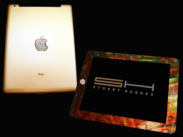 Stuart Hughes iPad 2 Gold History Edition 900x675px