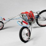 three-wheeled EX trike is a backbreaking way to travel