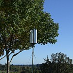The Zoetrope Wind Turbine installed 800x600px