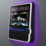 TouchTunes Virtuo SmartJuke - ambient light and vibrant display beckons it to be used 640x500px