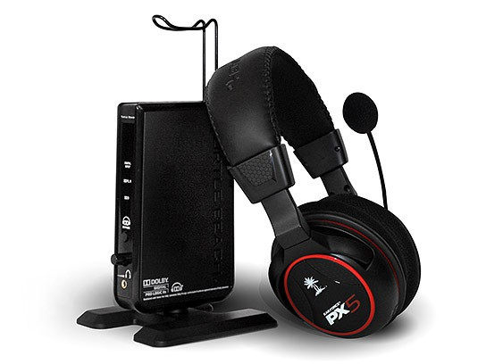 Turtle Beach Ear Force PX5 programmable wireless headset 544x408px