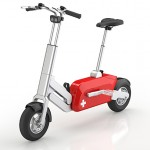 Voltitude bike is electric and it is foldable and stowable