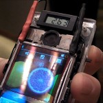French firm developed touchscreen layered with solar cells