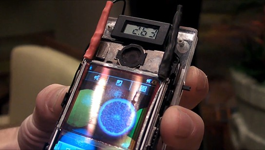 Wysips transparent touchscreen with solar cells 544x308px