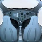 Auto-Gyro The Cavalon gyrocopter - cockpit 600x400px