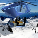 could AvA 299 DROP concept helicopter replaces Ski Lift?