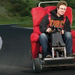 recliner chair turned into a motorized chair that goes 40 mph