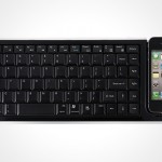 a full size keyboard that's also a dock for your iPhone