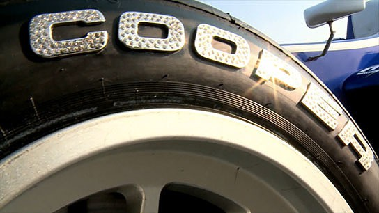 Cooper Tires studded with diamonds 544x306px