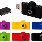FUUVI Pick is a digital camera and a USB Flash Drive
