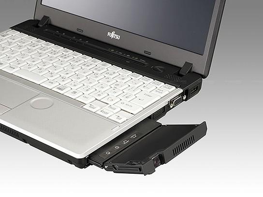 Fujitsu Lifebook with Projector 544x408px