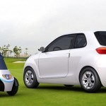 eco-friendly GEELY McCar hides an electric trikes in its trunk