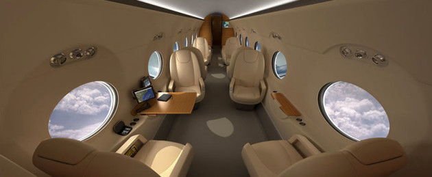 Gulfstream G550 Visions Edition (concept) 800x330px