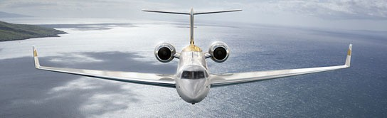 Gulfstream G550 Visions Edition (concept) 544x166px