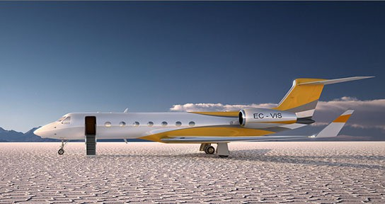 Gulfstream G550 Visions Edition (concept) 544x288px