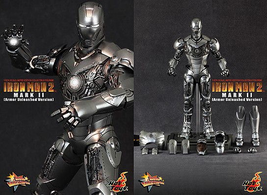 Hot Toys Mark II Iron Man Limited 544x398px