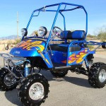 Yamaha powered golf cart for speed demon golfers