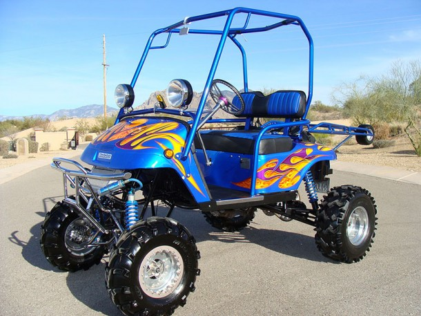 Yamaha powered golf cart for sd demon golfers - MIKESHOUTS on yamaha trailers, ezgo carts, custom lifted carts, used carts, gas powered carts, yamaha utility, yamaha gas carts, yamaha side by side, gasoline carts, yamaha electric carts, yamaha passenger carts,