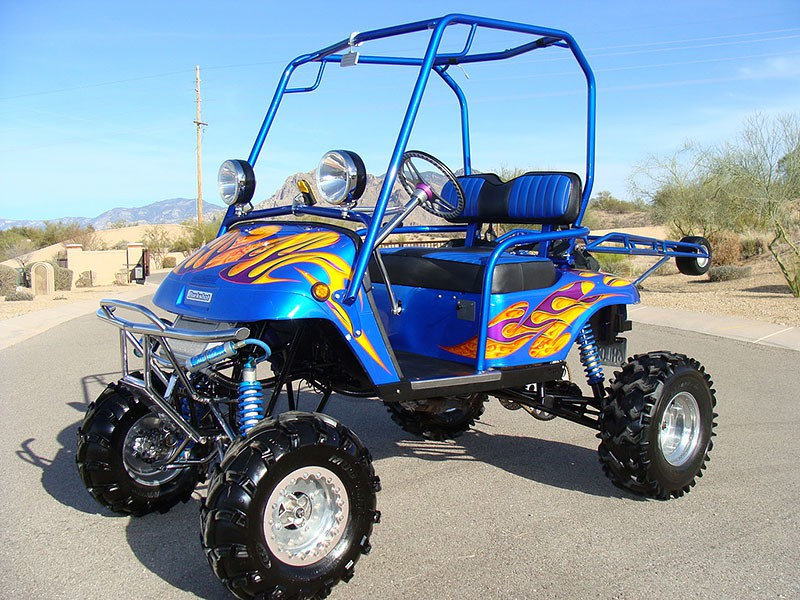 Yamaha Powered Golf Cart For Speed Demon Golfers Mikeshouts