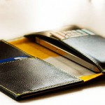 new leather smartphone wallet from Landmarks & Lion
