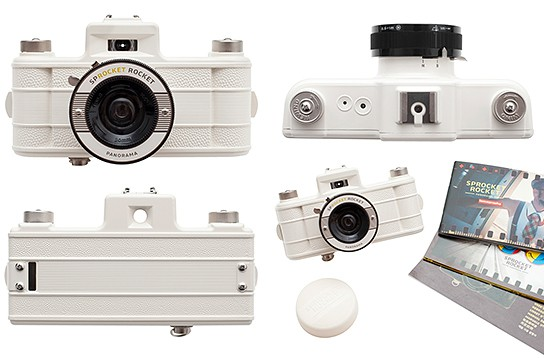 Sprocket Rocket Camera : Lomography sprocket rocket now comes in white mikeshouts