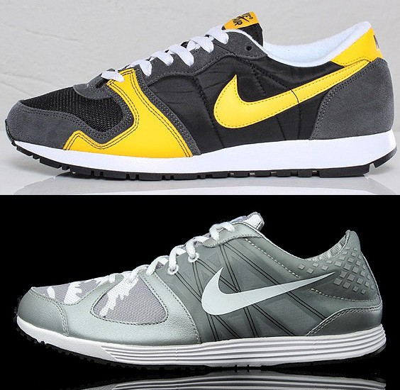 Nike Air Vengeance and Nike Lunaspider R TZ 544x550px
