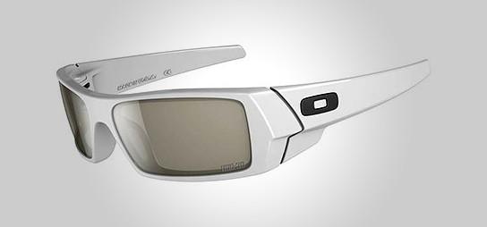 Oakley 3D Gascan Polished White 544x258px
