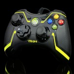 limited edition Yellow TRON Xbox 360 controller by PDP