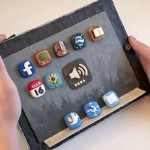can't afford an iPad? how about a plasticine iPad