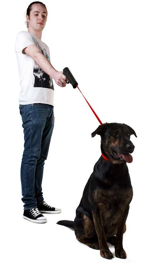 Provodokus - Gun-shaped Dog Leash 544x908px