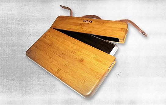 Silvia Bamboo Macbook Case 544x344px