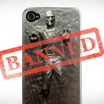 Steve Jobs in Carbonite iPhone Case – banned!