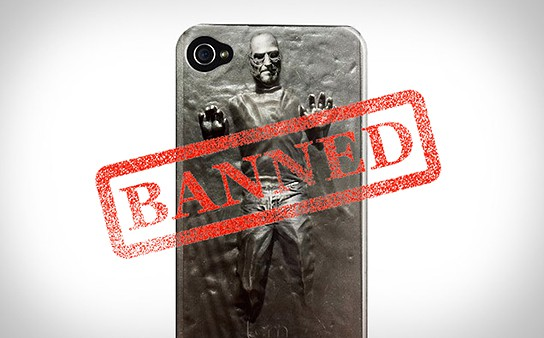 Society6 Steve Jobs in Carbonite iPhone Case 544x338px