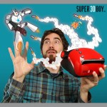 Super 3DBoy iPhone Game System 600x688px
