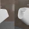 TANDEM Urinal-Sink by Kaspars Jursons - side & angled views 800x600px