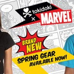 Tokidoki x Marvel spring gear launched, include skateboards