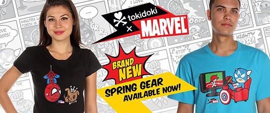 Tokidoki x Marvel Spring Gear 544x228px