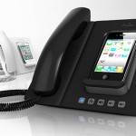 turn your iPhone into a sleek home/office fixed line phone